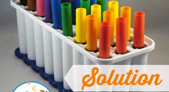 Ice Cube Tray Marker Storage And Organization