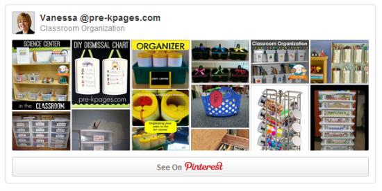 Classroom Organization Pinterest Board for Teachers