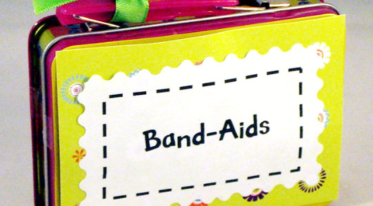 Cute Band Aid Storage Box