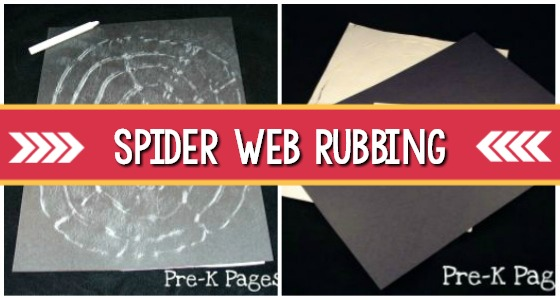 Fine Motor Spider Web Activity For Preschoolers