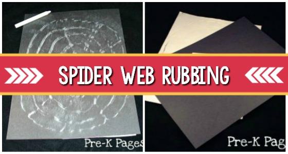 Fine Motor Spider Web Activity For Preschoolers