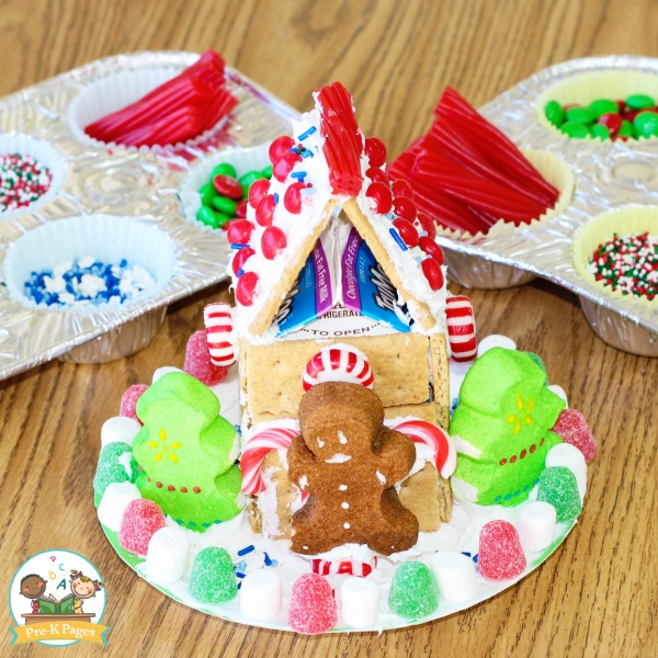 Gingerbread Houses for Preschool