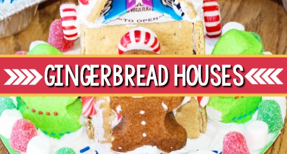 Milk Carton Gingerbread House Tutorial