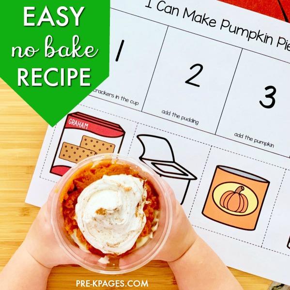 No Bake Pumpkin Pie in a Cup