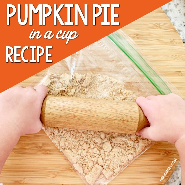 Pumpkin Pie in a Cup sequencing printable