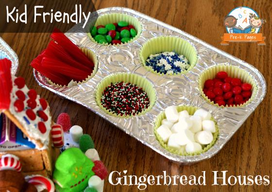 Easy Gingerbread Houses for Kids
