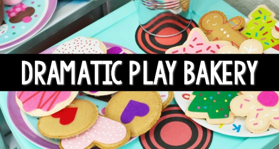 Bakery Dramatic Play Printable Props for Pretend Play