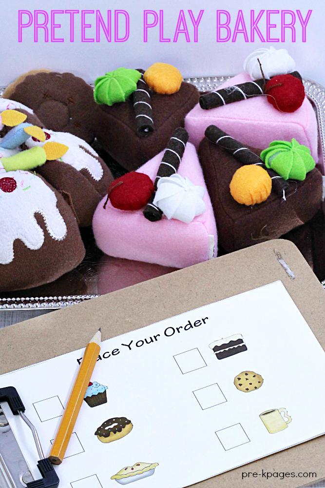 Pretend Play Bakery Theme for Preschool