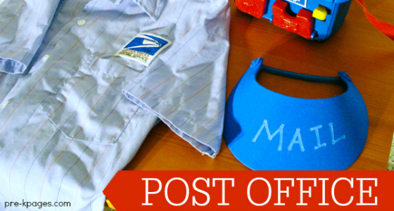 Post Office Play Printables