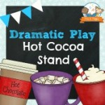 Dramatic Play Hot Chocolate Stand Printables