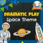 Dramatic Play Space Theme Printables