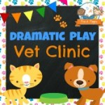 Dramatic Play Vet Clinic Printables