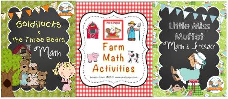 Printable Math Activities for Preschool and Kindergarten
