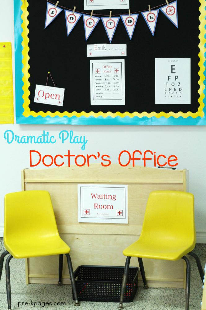 Pretend Doctor Office for Preschoo