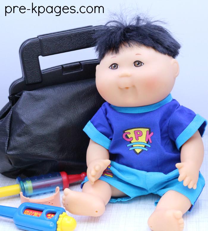 Pretend Play Doctor Office for Preschool
