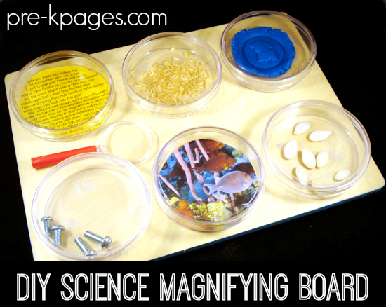 Science Magnifying Board