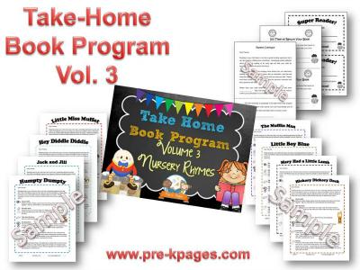 Take Home Book Program Vol 3: Nursery Rhymes