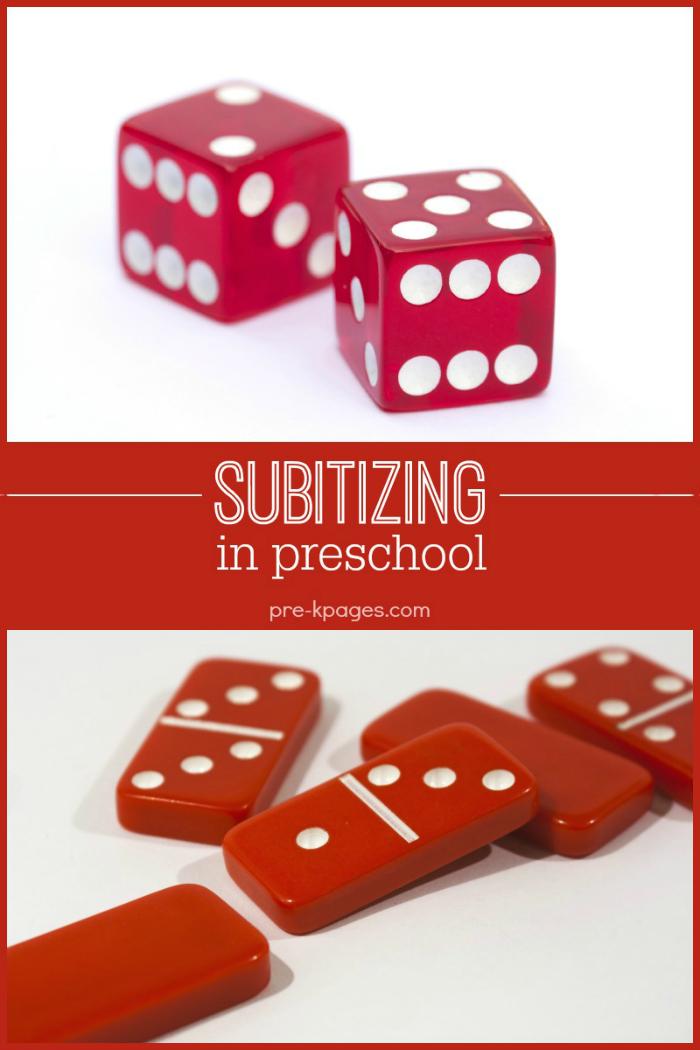 Teaching Kids How to Subitize in Preschool