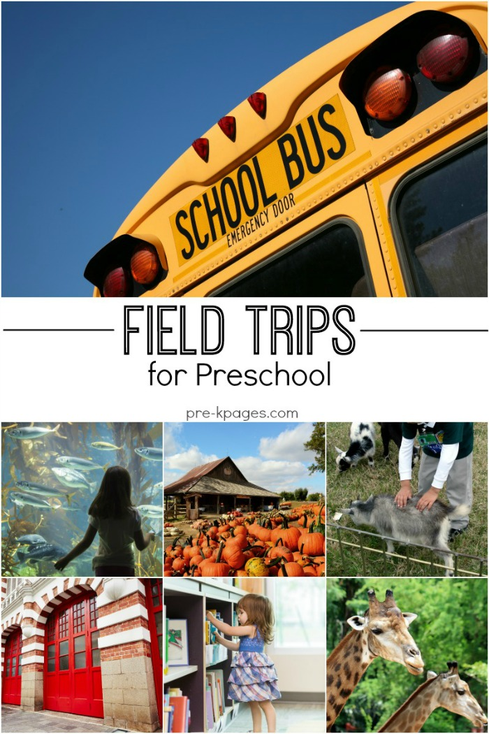 Preschool Field Trip Ideas