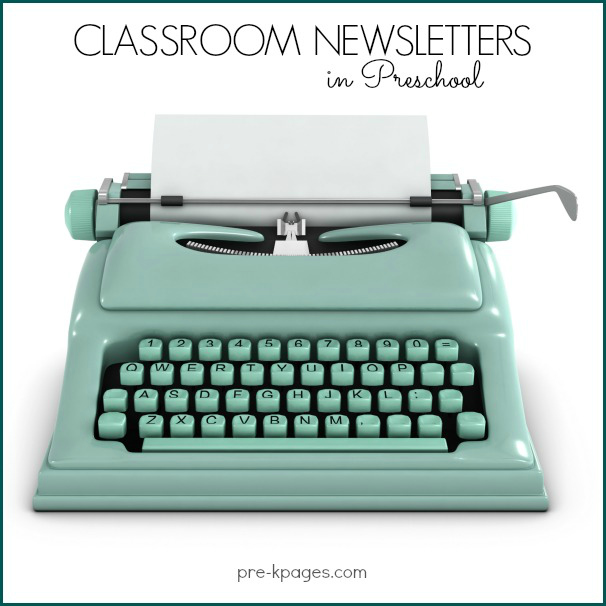 Printable Classroom Newsletters For Preschool And Kindergarten