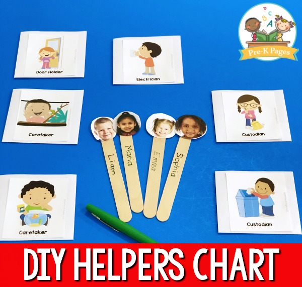 Make a Helpers Chart