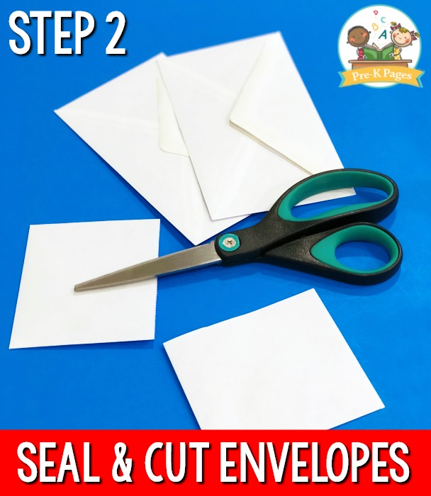 Seal and Cut Envelopes