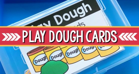 Printable Play Dough I Can Task Cards