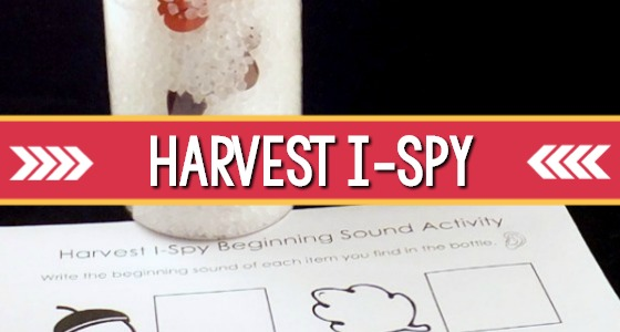 Harvest I Spy Beginning Sounds Activity
