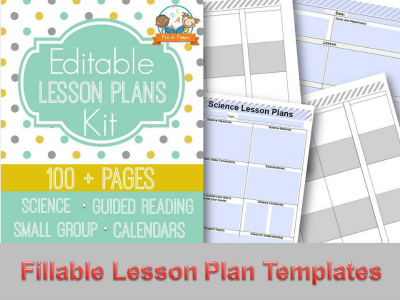 image regarding Teacher Plan Book Printable known as Printable Lesson Ideas for Preschool, Pre-K, and Kindergarten