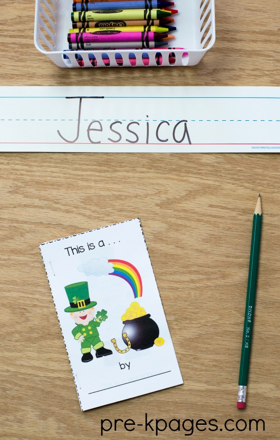 St Patricks Day Printable Emergent Reader