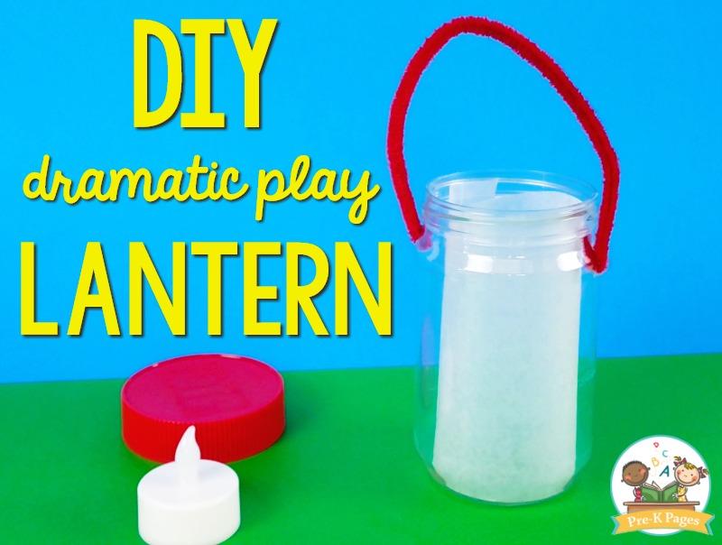 Camping Theme Dramatic Play Lantern