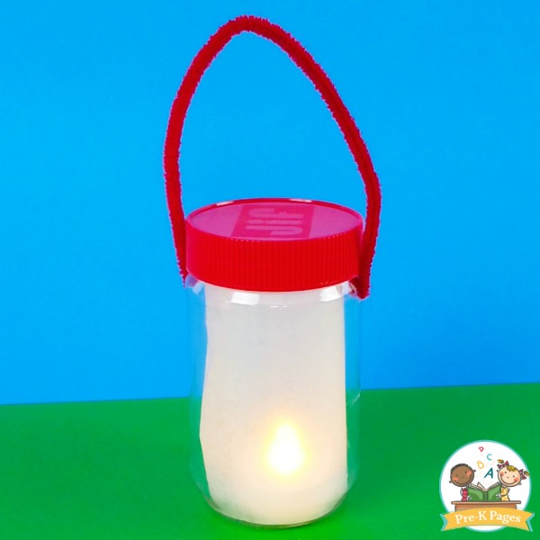 Dramatic Play Lantern for Camping Theme