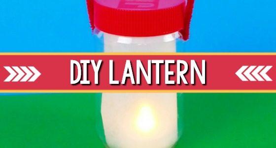 DIY Camping Lantern Craft For Kindergarten