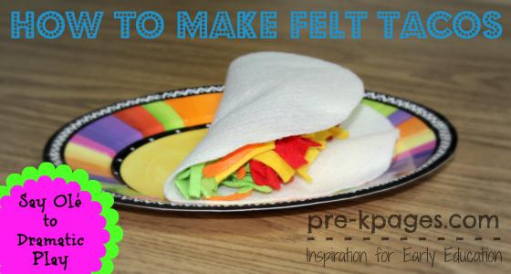How to Make Felt Tacos