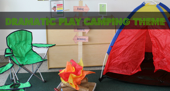 Camping Dramatic Play Theme
