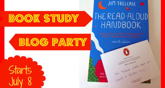 Summer Book Study: The Read-Aloud Handbook by Jim Trelease