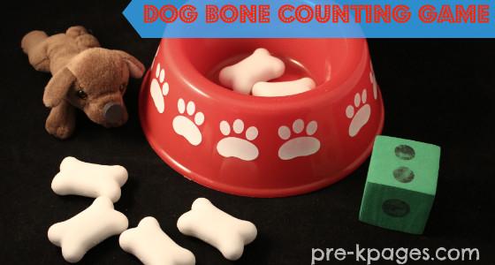 Dog Bone Counting Game