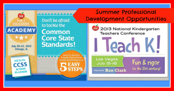 Summer Planning and Professional Development