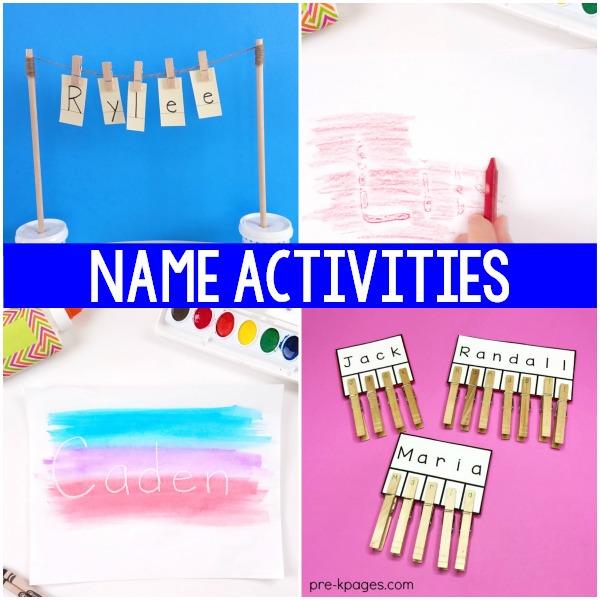 How to Teach Names in Preschool