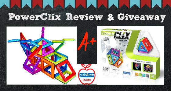 PowerClix {Guidecraft Educator Review & Giveaway}