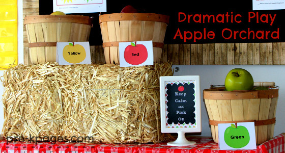 Apple Orchard Themed Dramatic Play