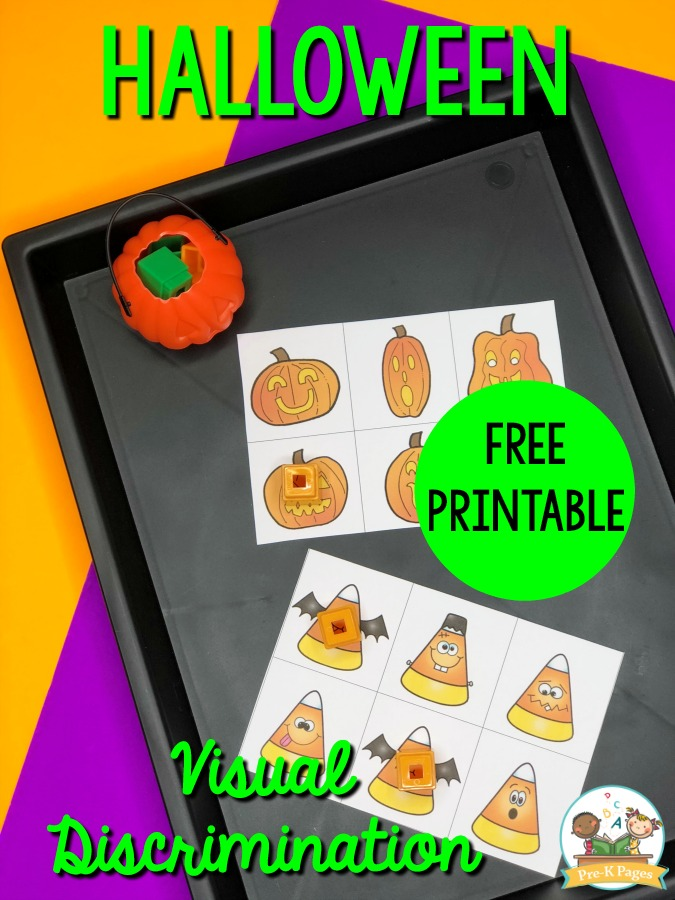 Halloween Same and Different Printable