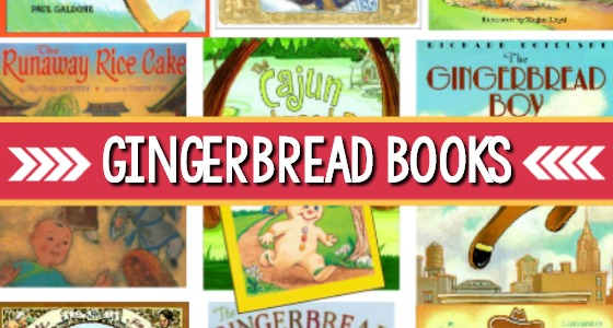 Gingerbread Books for Preschool
