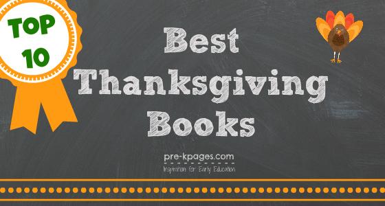 Best Thanksgiving Books for Preschool and Kindergarten