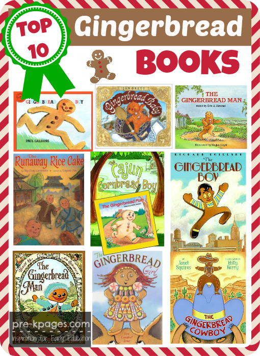 Best Gingerbread Picture Books For Preschoolers