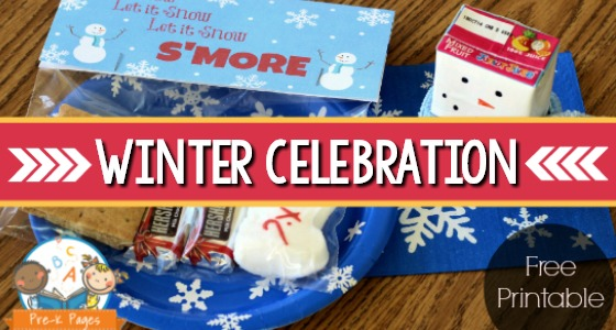 Winter Classroom Celebration in Preschool