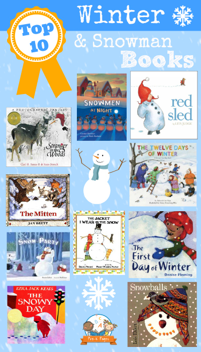 Best Winter Picture Books For Preschoolers