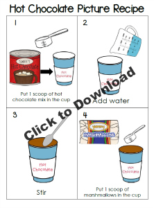 Hot Chocolate Picture Recipe
