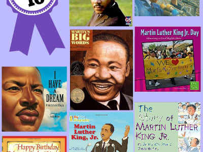 10 Awesome Picture Books About Dr. Martin Luther King Jr.