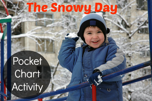 The Snowy Day Literacy Activity for Preschool and Kindergarten